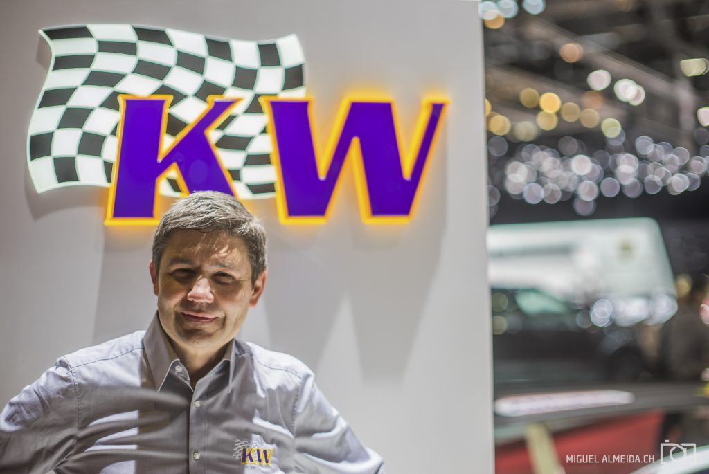 KW automotive auf dem Auto Salon Genf