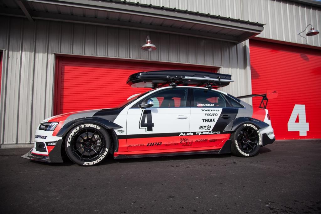 Audi S4 Allroad Outfitters im DTM-Style mit KW Gewindefahrwerk Variante 3
