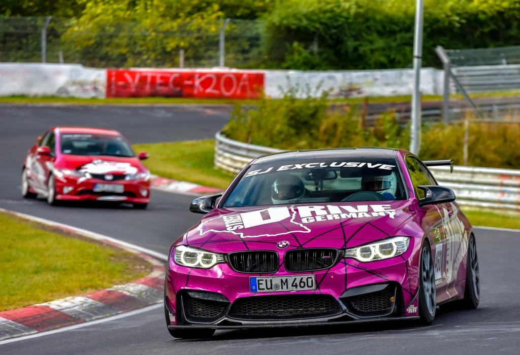 Auch SJ Exclusive setzt bei ihrem BMW M4 auf das KW Clubsport 3-Way Gewindefahrwerk.