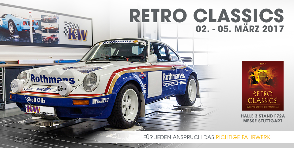 KW automotive auf der Retro Classics in Stuttgart