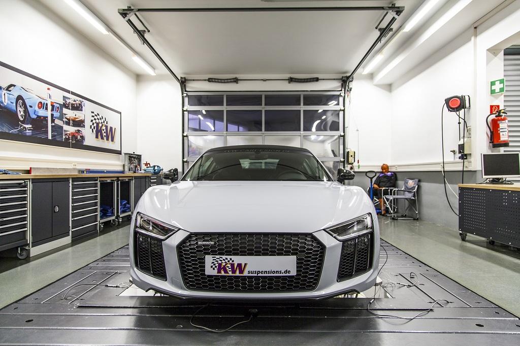 Entwicklung KW Variante 4 für Audi R8 V10 5.2