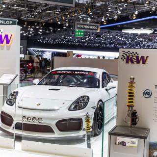 Preview: KW auf dem 87. Auto-Salon Genf – unser Stand ist in Halle 2