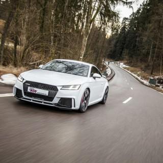 Endlich mehr Fahrdynamik im Audi TT RS: KW Gewindefahrwerke im Angebot