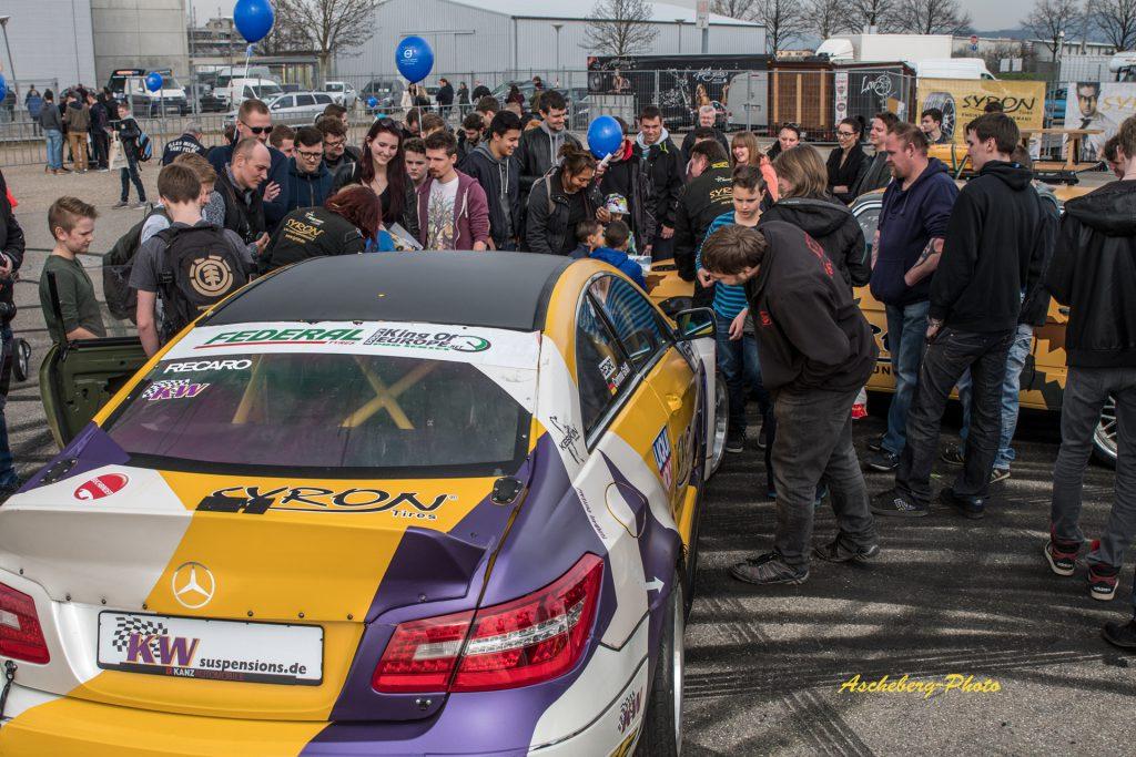 """KW Drifter von """"Deutsche Drifter e.V."""" bei der Automobil in Freiburg"""