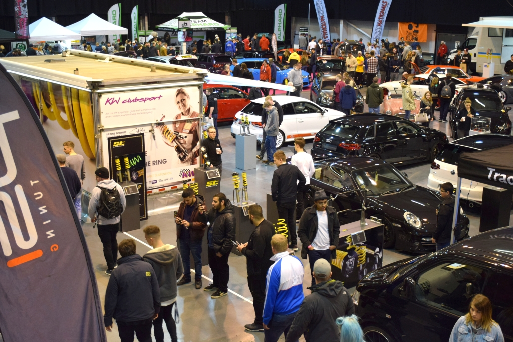 KW und ST suspensions bei der Ultimate Dubs Show 2017 in UK