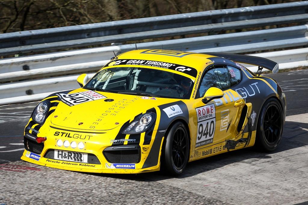 Gelungener Saisonauftakt für die Cayman GT4 Trophy by Manthey-Racing
