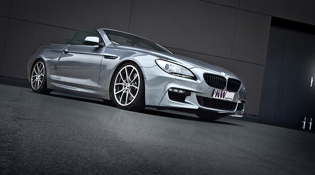 Auch für den BMW 5er und 6er mit xDrive hat KW Gewindefahrwerke im Programm.