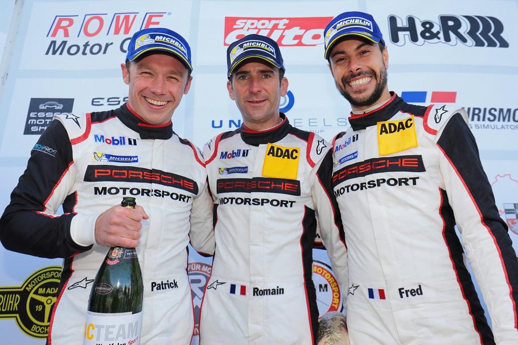 KW Porsche Kundenteam Manthey-Racing mit zwei Siegen zum VLN-Saisonauftakt