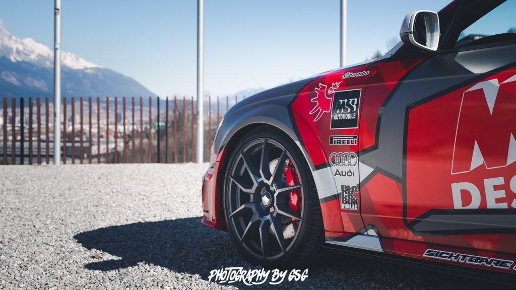Neues Projektfahrzeug von MS Design mit KW Fahrwerk