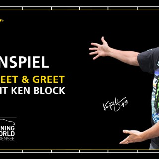 Meet & Greet mit Ken Block auf der Tuning World Bodensee