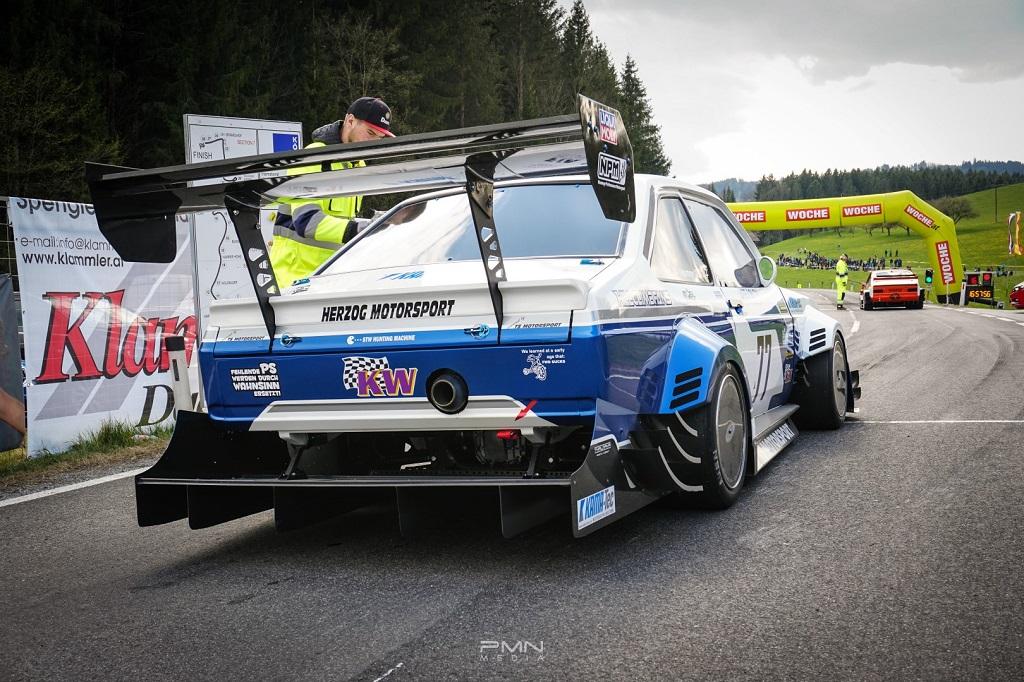 Ford Escort MK2 RS mit KW Competition Rennsportfahrwerk