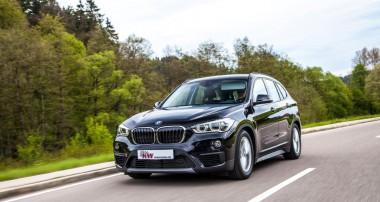 Ein Plus an Fahrfreude für den BMW X1: KW Gewindefahrwerke lieferbar