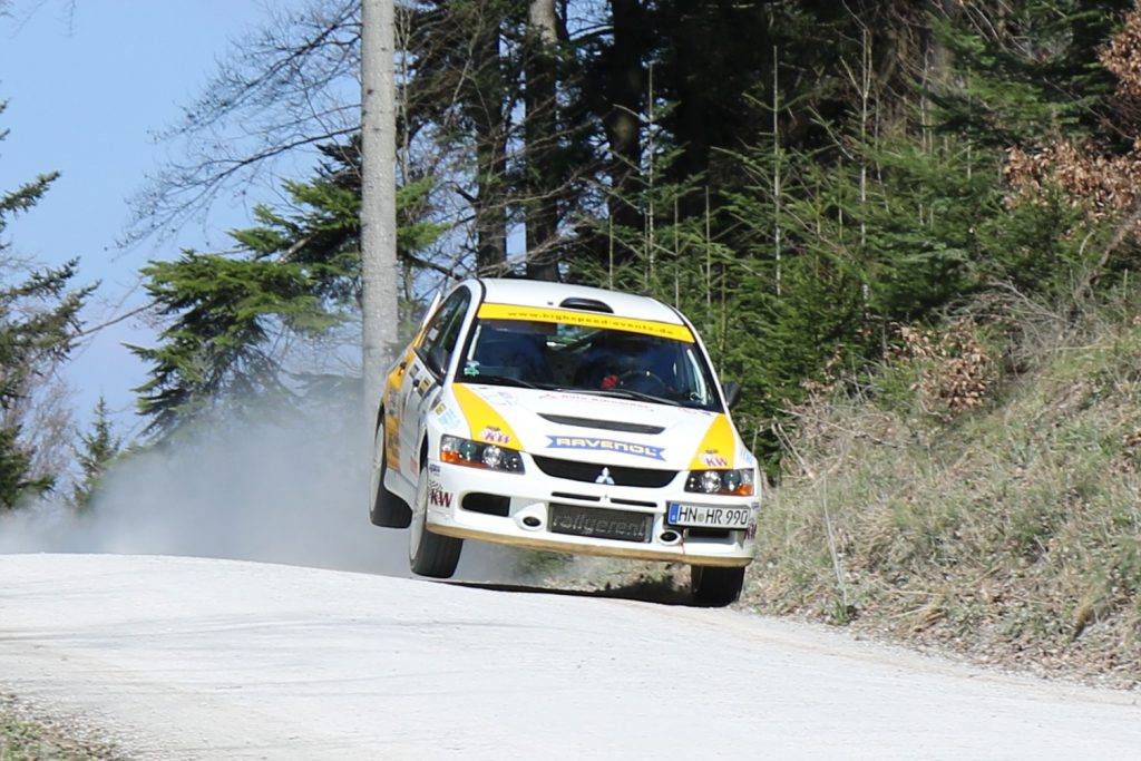 KW Competition Rallye-Kunde Rainer Noller gewinnt in Norddeutschland