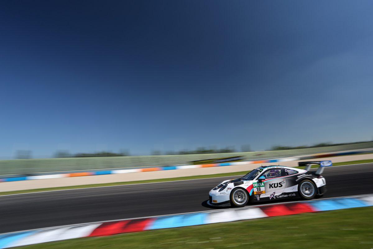Neun Positionen machte das KÜS Team75 Bernhard am Samstagsrennen des ADAC GT Masters auf dem Lausitzring gut.