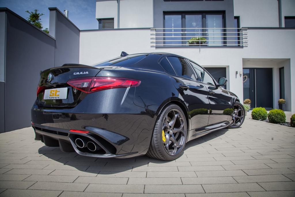 ST hat für die neue Alfa Romeo Quadrifoglio bereits Fahrwerksfedern entwickelt