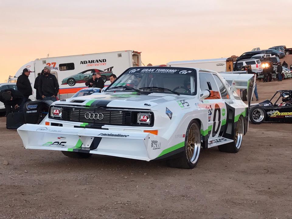 EPS Motorsport Audi Quattro S1E2 Pikes Peak mit KW Comeptition Rennsportfahrwerk