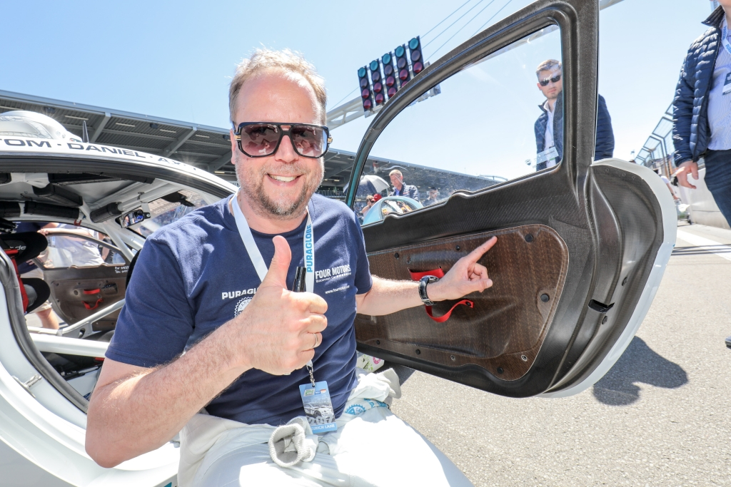 Auch Smudo und das Four Motors Team setzen seit Jahren auf KW Competition Fahrwerke