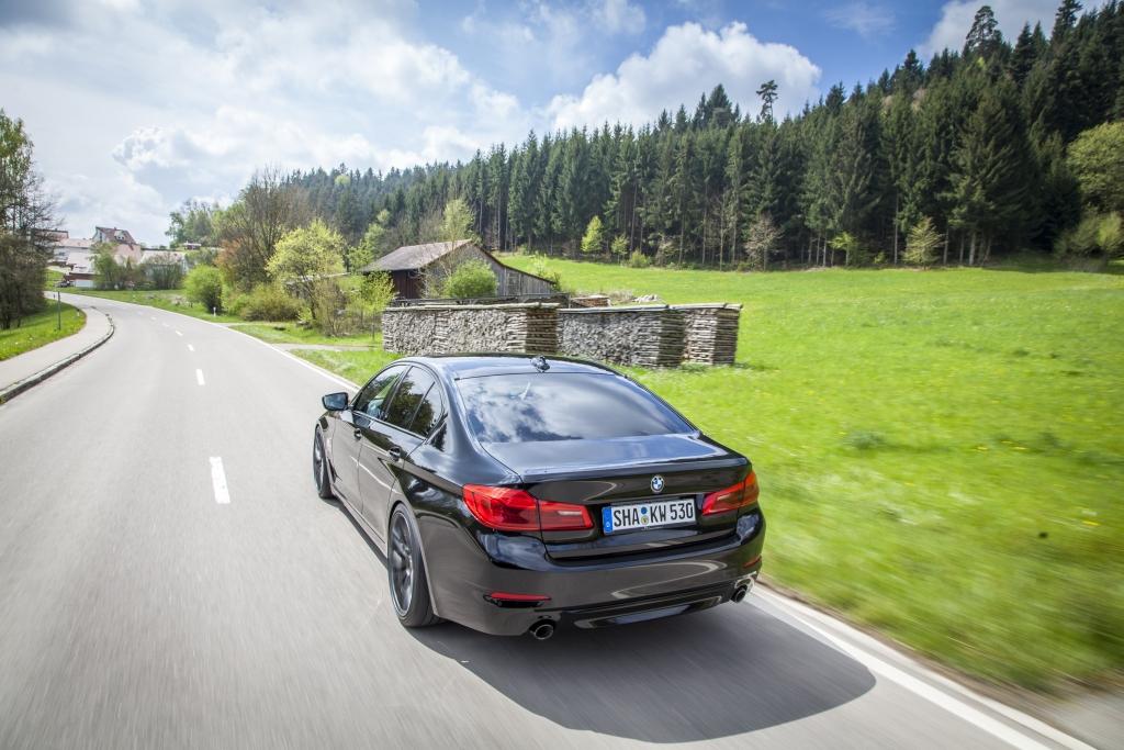 BMW 5er G30 Limousine mit KW Variante 3 Gewindefahrwerk