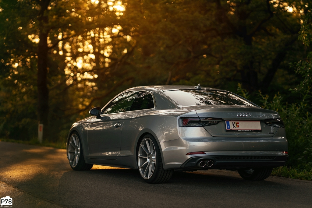 Die KW Gewindefedern gibt es auch für den Audi A5 (B9)