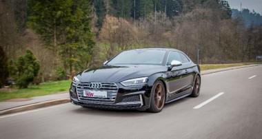 Mehr Tiefe und Fahrdynamik für neuen Audi S5 (B9): KW Variante 3