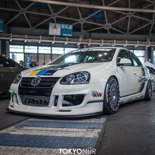Made in Japan: Ein Jetta rockt das Wekfest mit KW V3 und Super+