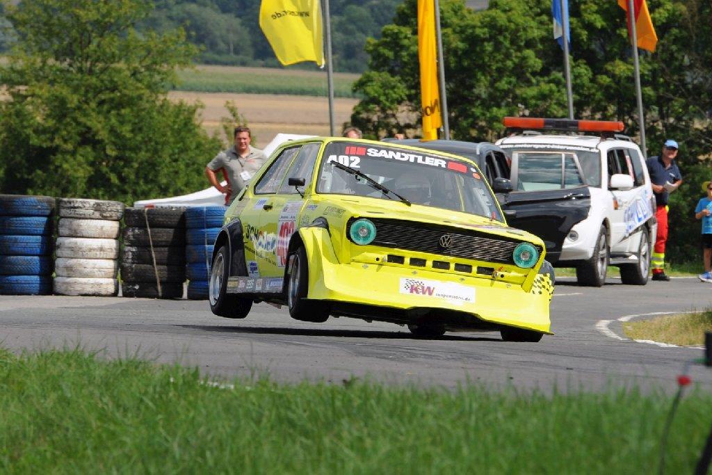KW Berg Cup Rennfahrer Frank Duscher
