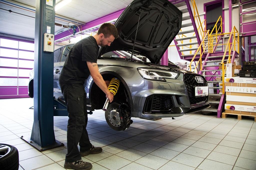 KW Fahrwerkentwicklung für Audi RS3