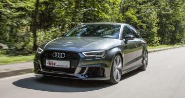 Kurz vor der Markteinführung: KW V3 für Audi RS3 Stufenheck-Limo!