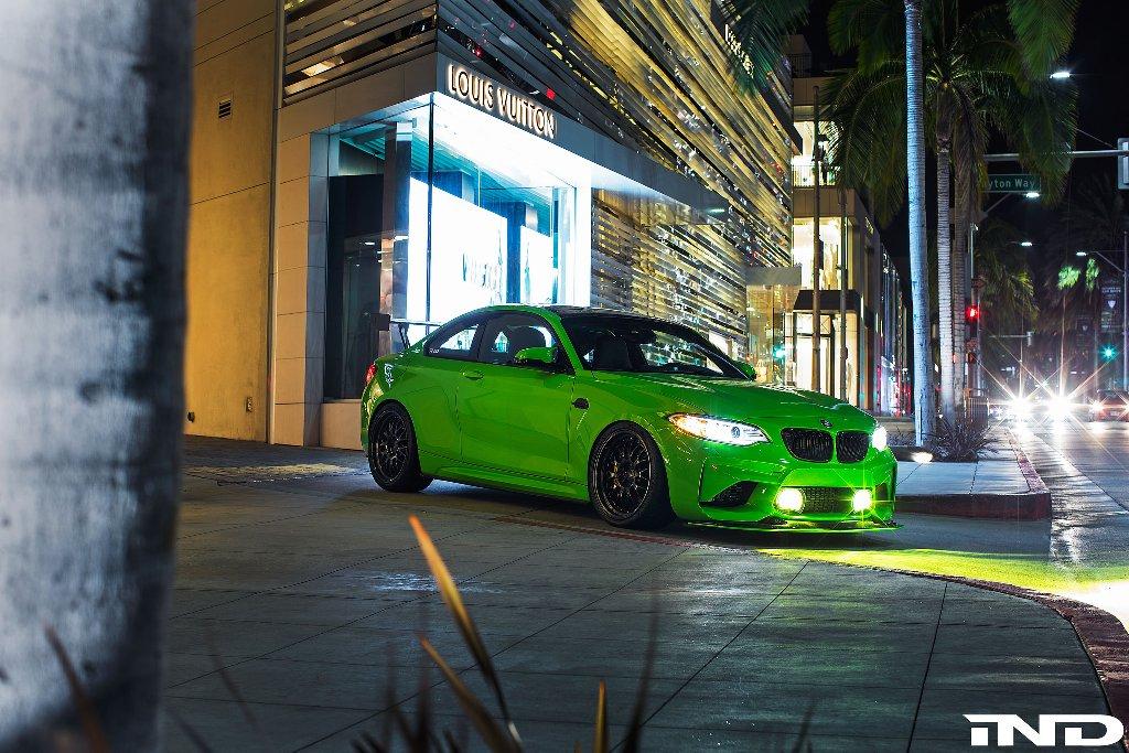 Auto Der Woche Ind Distributions Bmw M2 Gelbgrün Kw