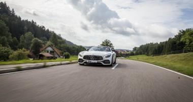 Innovative KW Fahrwerkupgrades für den Mercedes-AMG GT C Roadster