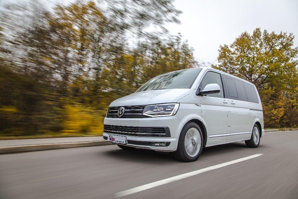 Für alle VW T6 Multivan mit adaptiver DCC Fahrwerkregelung ist ab sofort das aktiv regelbare KW DDC plug&play Gewindefahrwerk erhältlich.