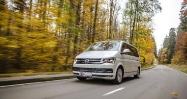 Das KW DDC plug&play Gewindefahrwerk sorgt im VW T6 für Fahrspaß