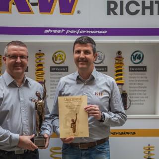 """KW ist Preisträger des Jahres 2017 – im Wettbewerb """"Großer Preis des Mittelstandes"""""""