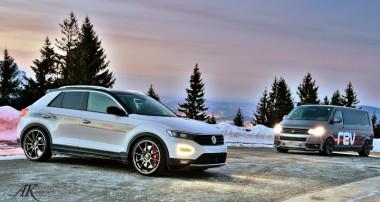 T-Roc on Ice! Erster Teaser zum VW T-Roc mit KW Gewindefahrwerk!