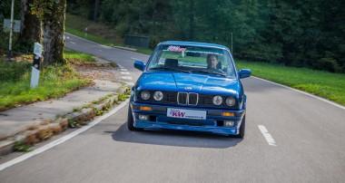 KW erweitert KW Klassik Produktlinie: BMW E30 Gewindefahrwerke inklusive Achsschenkel lieferbar