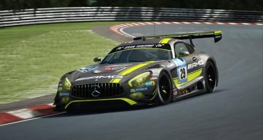 Maxi Götz testet den Mercedes-AMG GT3 bei RaceRoom