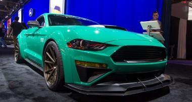 Roush 729 Concept Mustang auf Basis des 2018er Modells – die 729 Mustangs unter der Haube sind Programm!