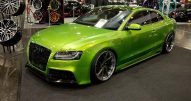 Sweet Green: Das A5 Coupé von Andreas im Rieger Sport-Look