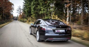 Die Zukunft ist heute: Adaptives KW DDC ECU Tesla Model S Gewindefahrwerk mit HLS