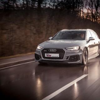 Jetzt im Angebot: KW Gewindefedern für Audi RS4 Avant und RS5 Coupé