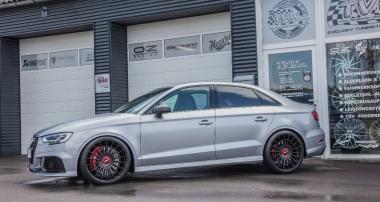 Behind the Scenes: Einbau von in der Höhe einstellbaren KW Federn im Audi RS3