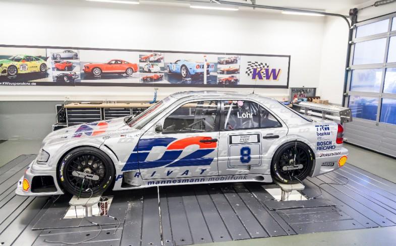 """""""Gerät mit Stern"""": Team Stadler Motorsports 94er Klasse-1-Benz"""