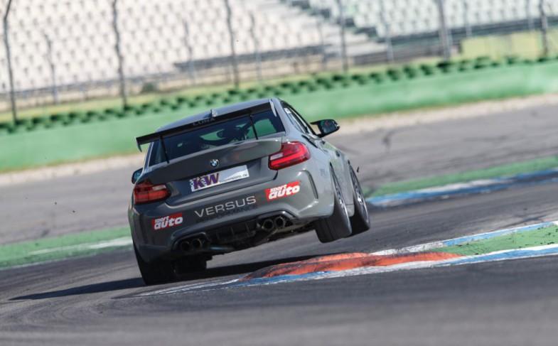 Neuer Rekord mit einem straßenzugelassenen BMW M2 am Hockenheimring: Versus Performance fährt 1:08,2 Minuten