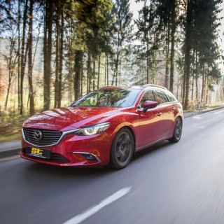 Endlich: Gewindefahrwerk für Mazda 6 (GH, GJ) mit Teilegutachten