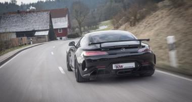 Street Performance Upgrade für Mercedes-AMG GT R: KW Variante 4 und KW HLS