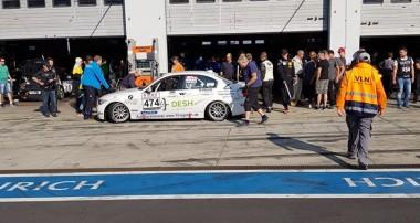 VLN: Team Derscheid Motorsport mit einem kleinen Schritt nach vorne
