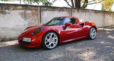 Der Fahrdynamiker: mit einem KW Gewindefahrwerk macht der Alfa Romeo 4C erst so richtig Spaß