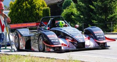 Berg: Schall und Rauch für Steiner Motorsport in Massongex