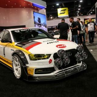 """""""Rallye-Stance"""" für den S4 quattro! Neuer Look für den Allroad Outfitters Audi"""