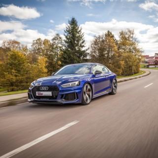 Begeistert im Audi RS5: Das KW Street Performance Gewindefahrwerk Variante 4